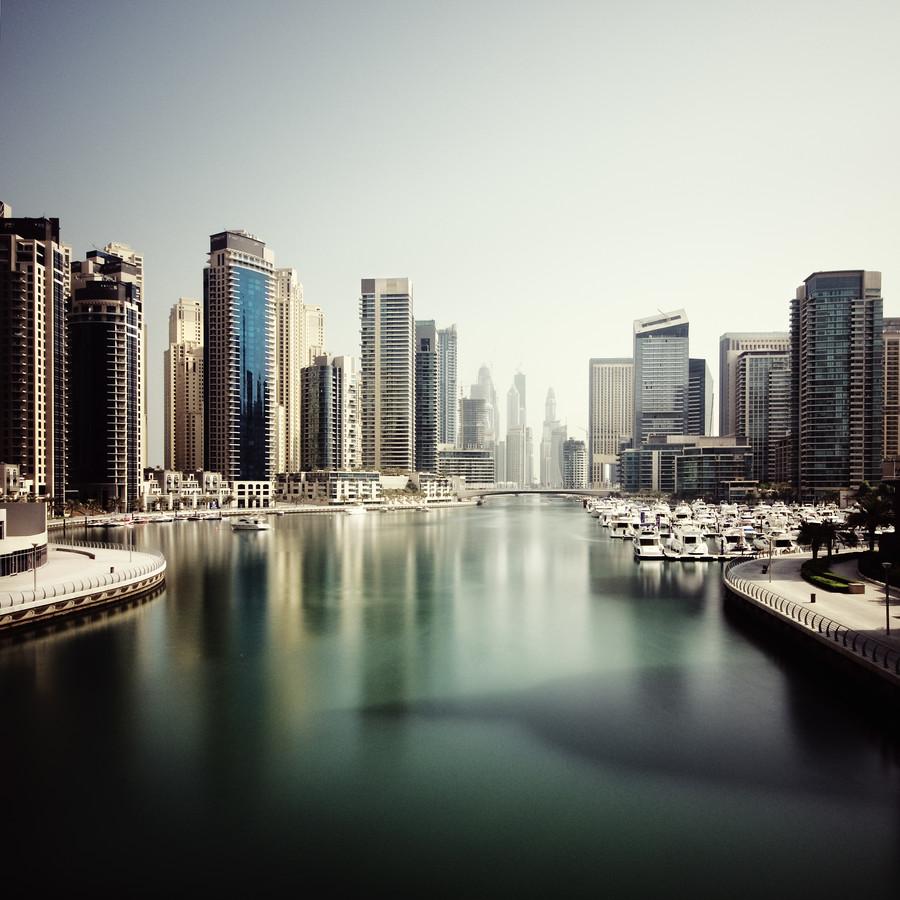 Dubai Marina - Fineart photography by Ronny Ritschel