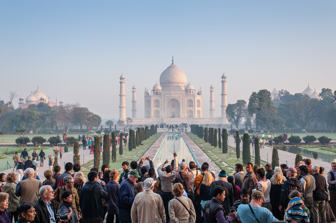 Totally Magnific Taj Mahal - Fineart photography by Johannes Christoph Elze