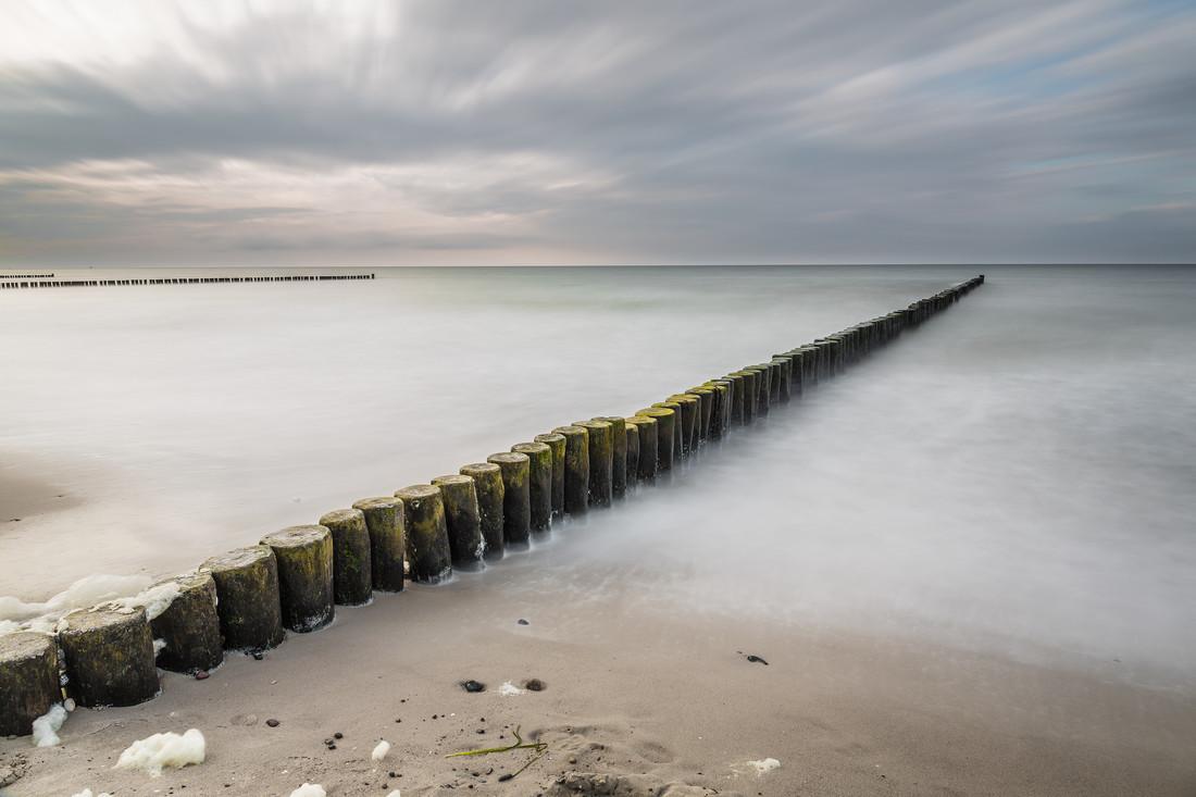 Buhne Ahrenshoop - fotokunst von Michel Sievers