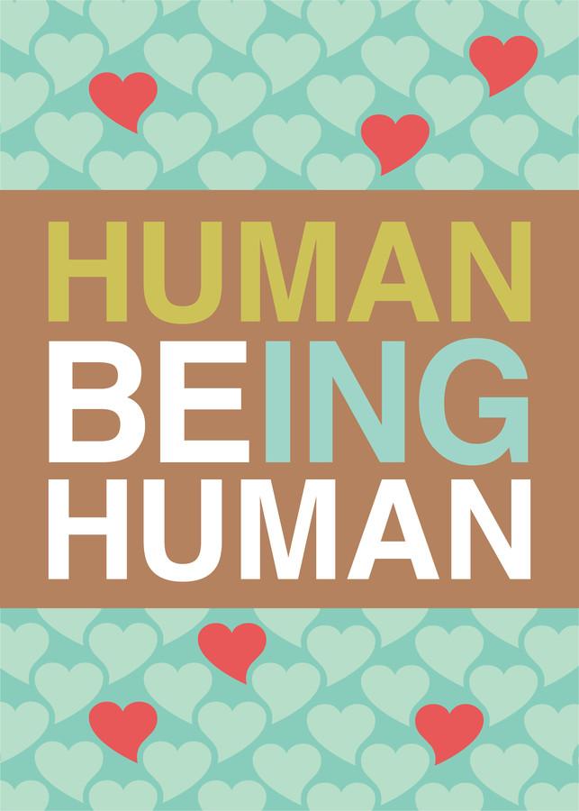 BEING HUMAN 05 - fotokunst von Un-typisch Verena Selbach