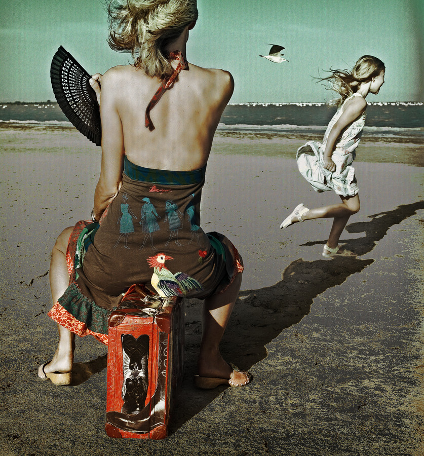 Dance, little Bird! - fotokunst von Ambra