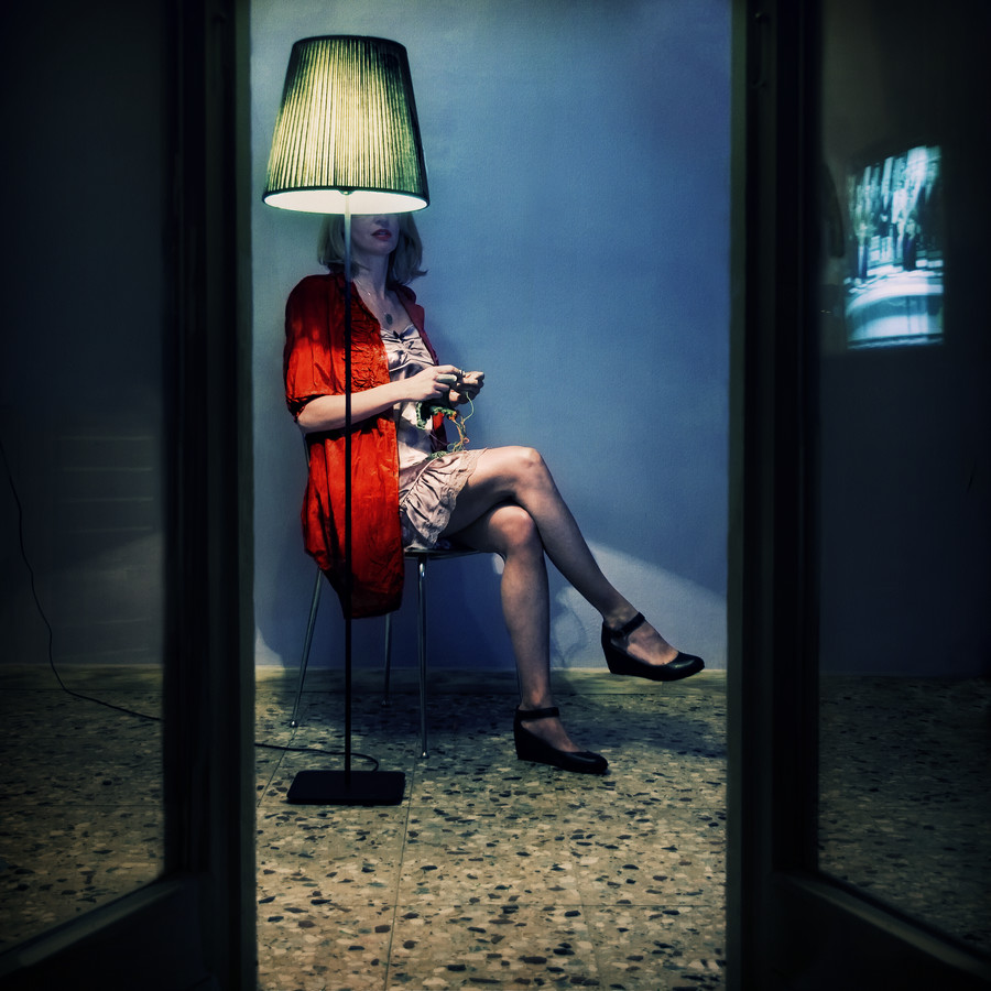 blue.room - Fineart photography by Ambra