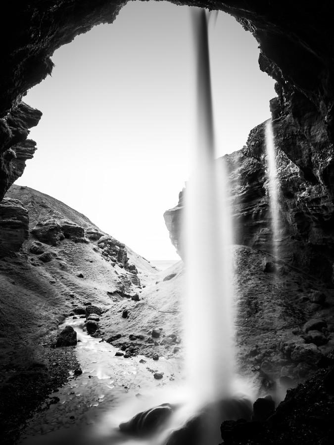 KVERNUFOSS - ICELAND - Fineart photography by Christian Janik
