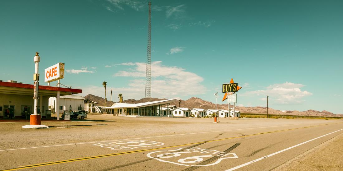 Roy´s Motel - fotokunst von J. Daniel Hunger