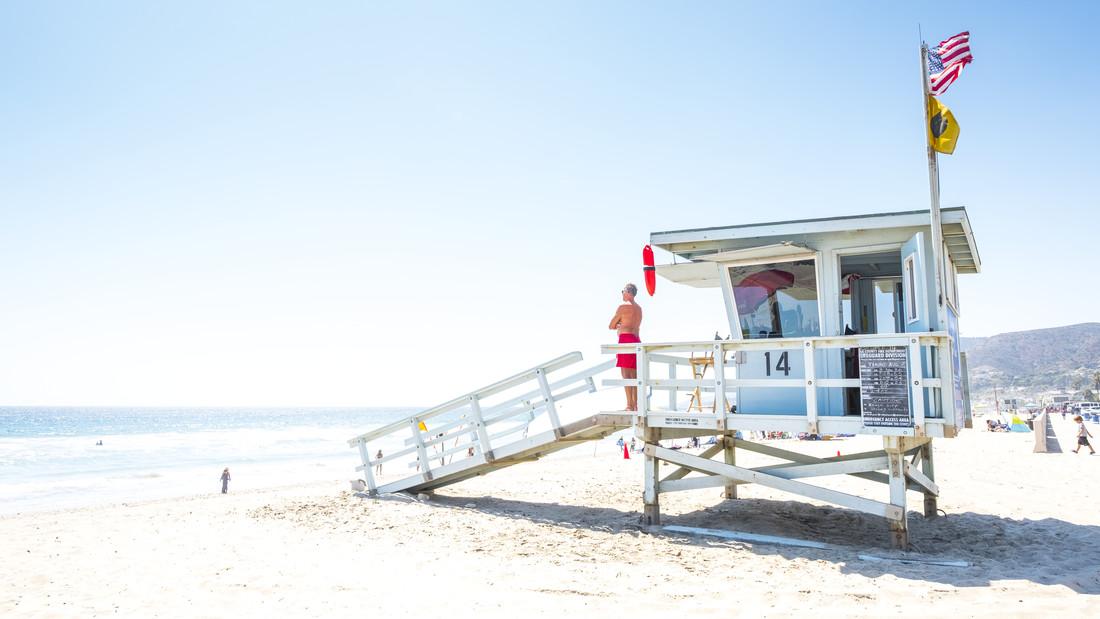Lifeguard #2 - fotokunst von J. Daniel Hunger