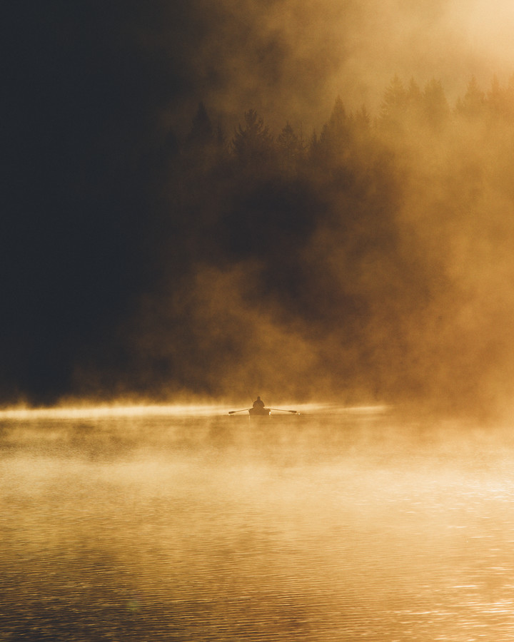 Burning Lake - Fineart photography by Jannik Obenhoff