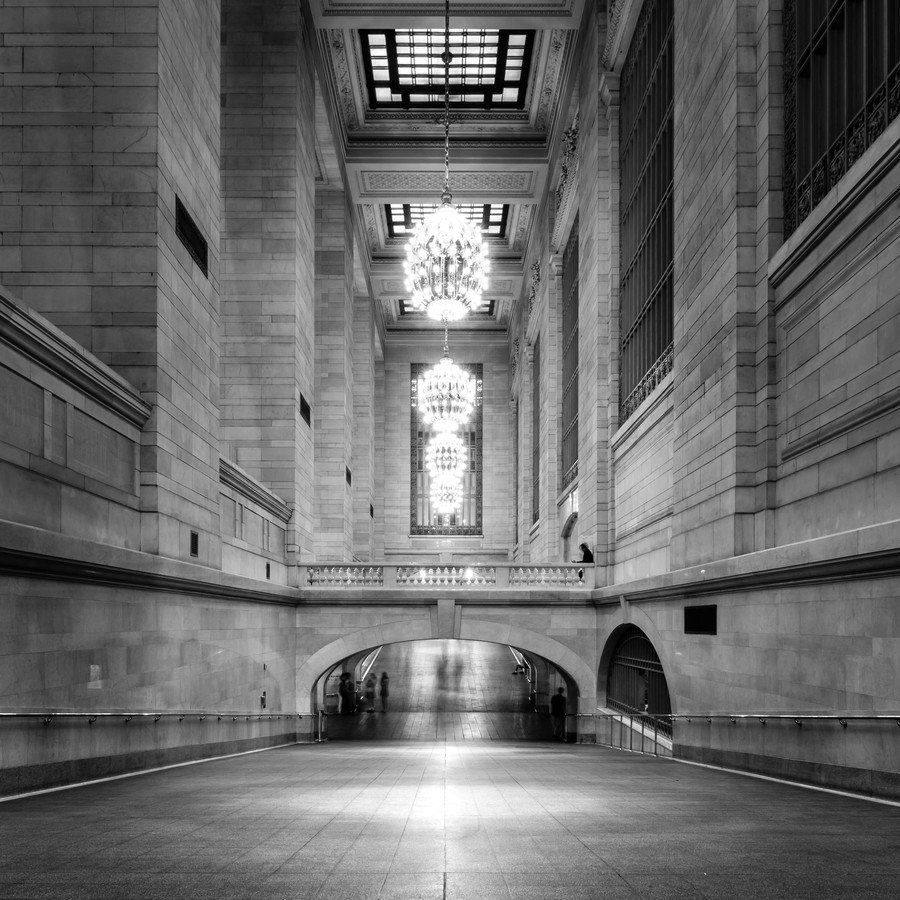 GRAND CENTRAL TERMINAL - NYC - fotokunst von Christian Janik