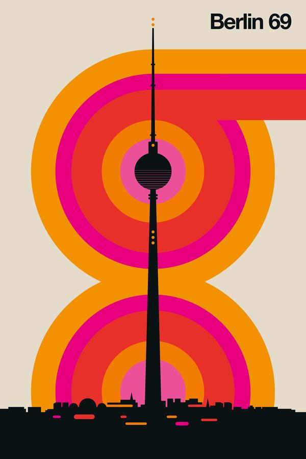 Berlin 69 - fotokunst von Bo Lundberg
