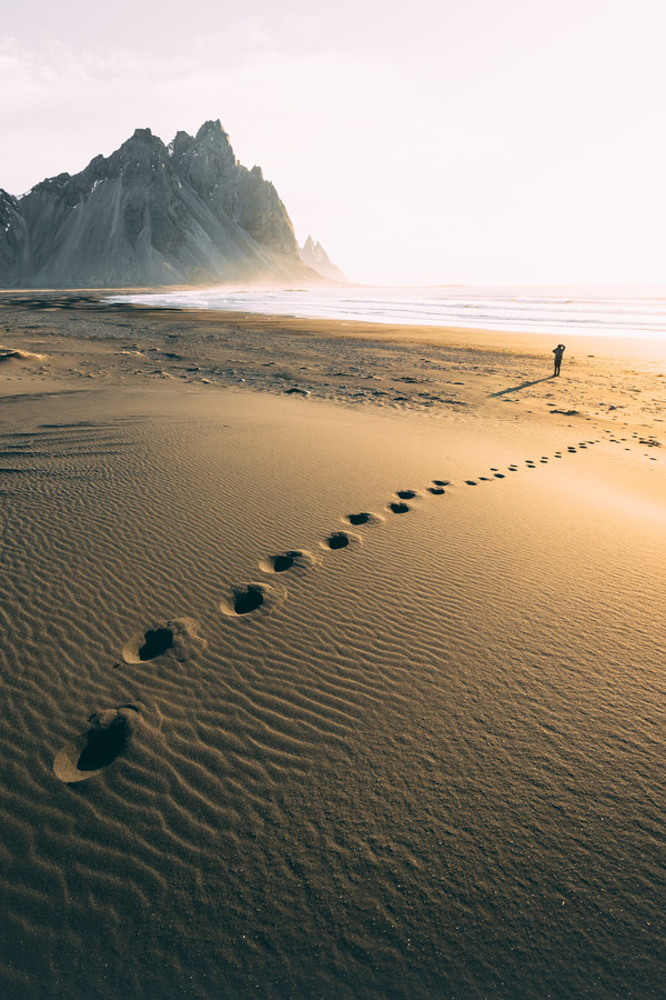 The Golden Beach - Fineart photography by Patrick Monatsberger