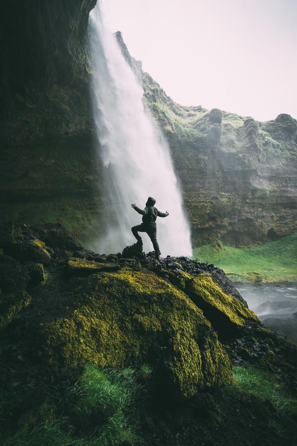 Icelandic Shower - Fineart photography by Patrick Monatsberger
