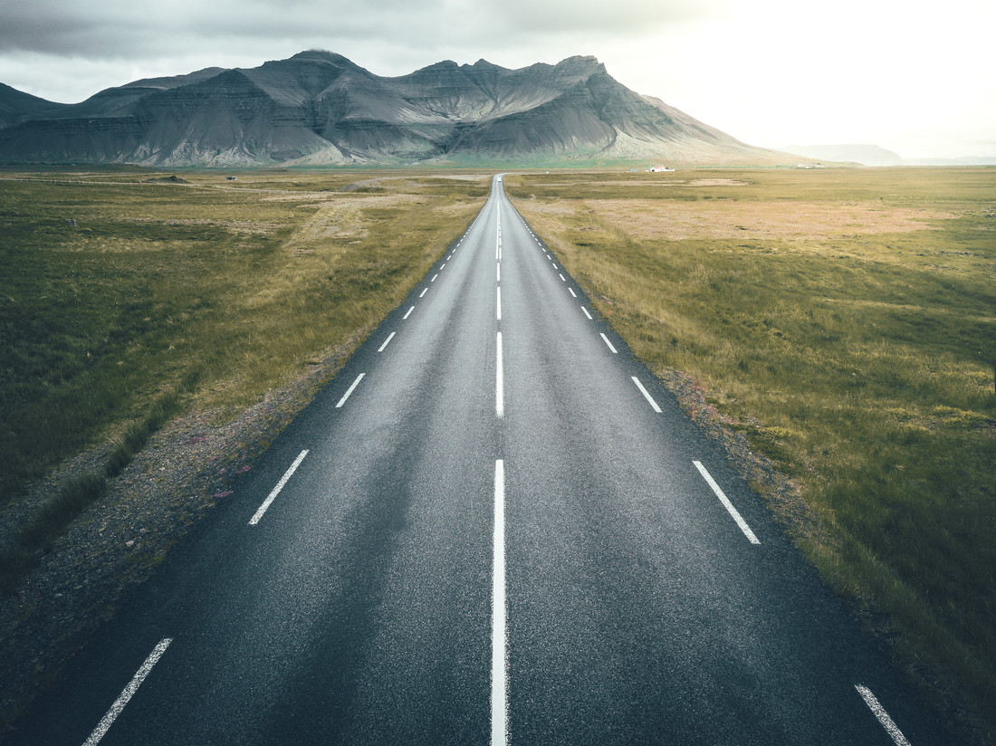 Road to . . . - Fineart photography by Patrick Monatsberger