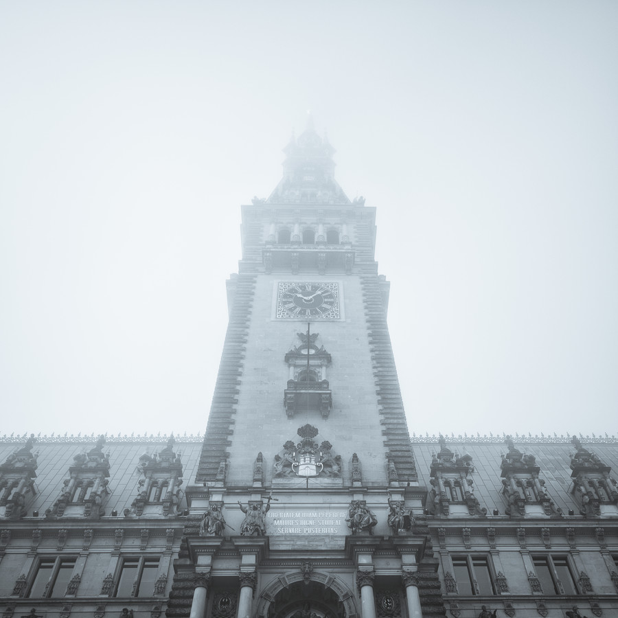 moin hamburch - townhall - Fineart photography by Dennis Wehrmann