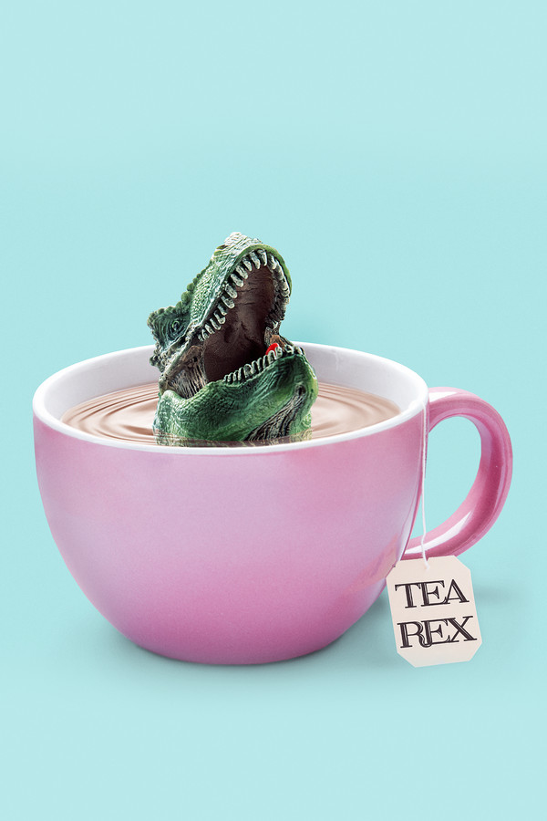 Tea-Rex - Fineart photography by Jonas Loose