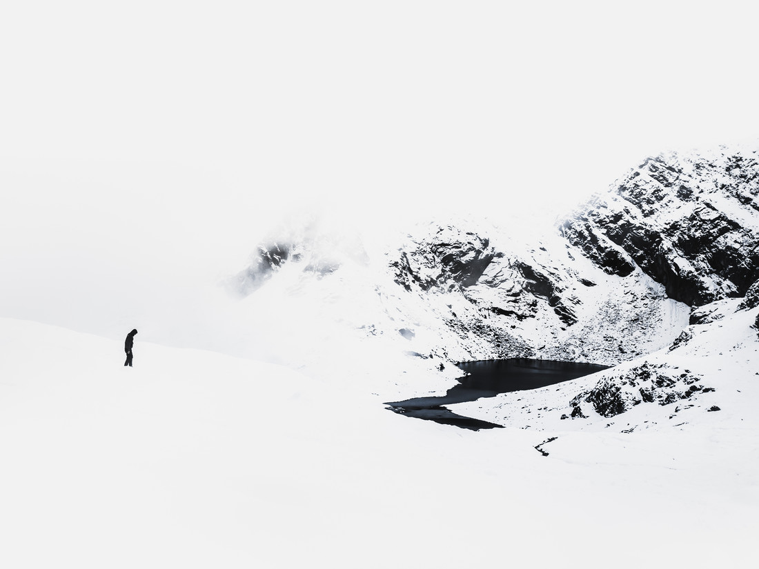 Simply winter - fotokunst von Frithjof Hamacher