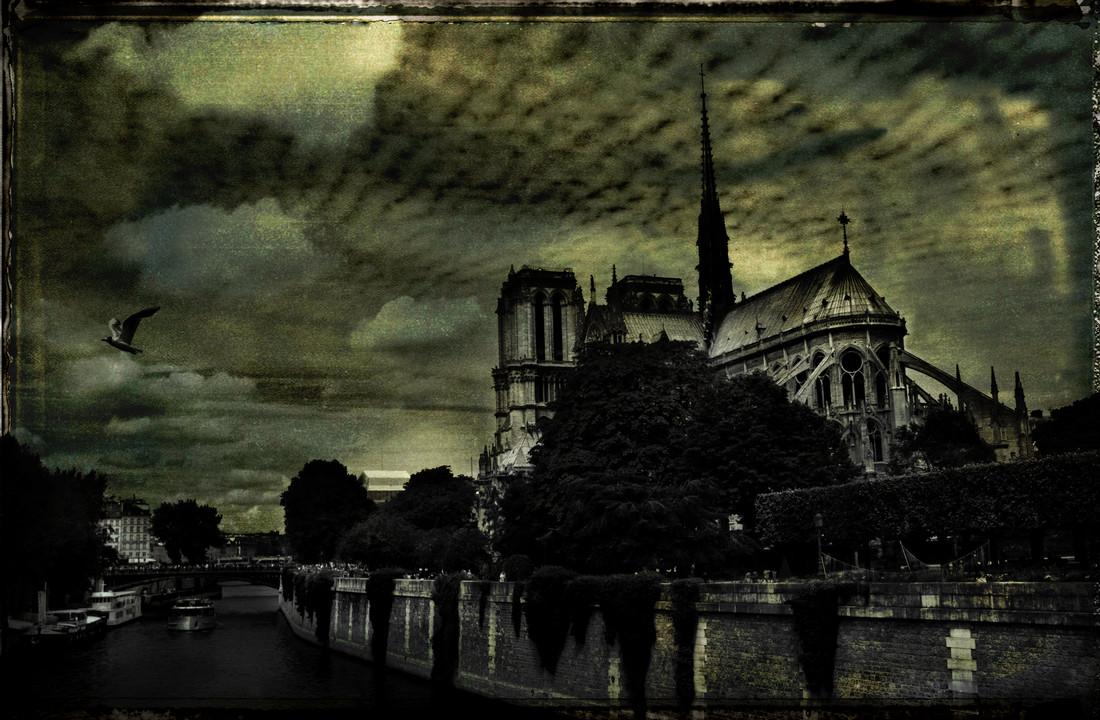 Notre Dame de Paris - Fineart photography by Sophie Etchart