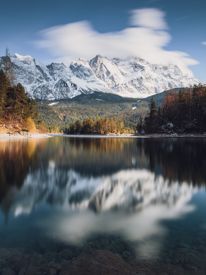 Alpine Reflection - fotokunst von Gergo Kazsimer