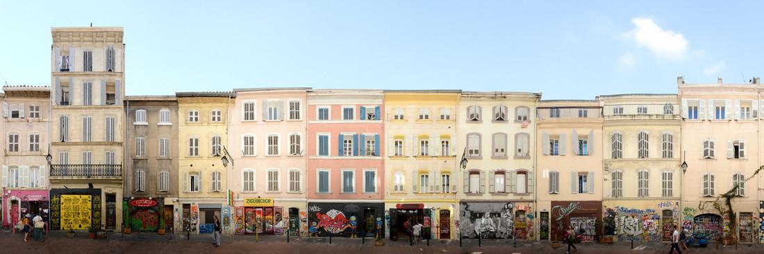 Marseille   Rue Pastoret - fotokunst von Joerg Dietrich