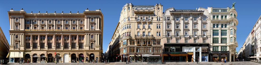 Wien | Graben 1 - fotokunst von Joerg Dietrich