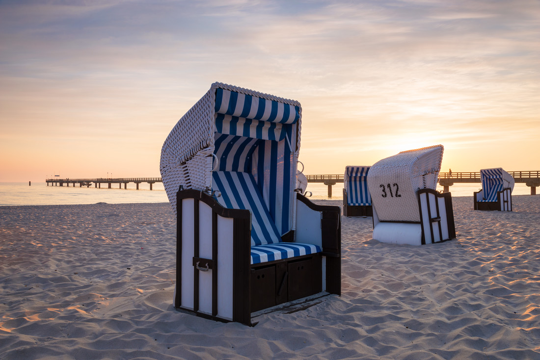 Am Strand III - fotokunst von Heiko Gerlicher