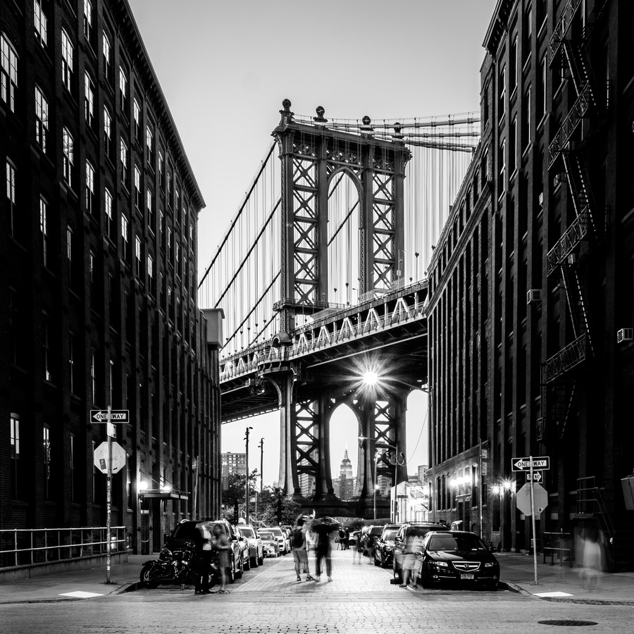 MANHATTAN BRIDGE - fotokunst von Christian Janik