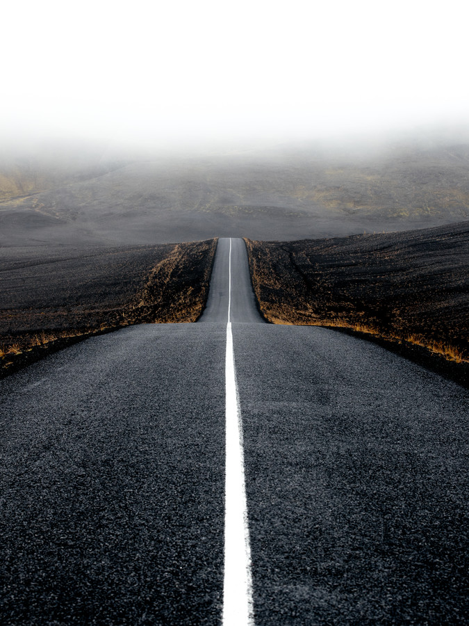 The road to the Highlands - Fineart photography by Lyes Kachaou