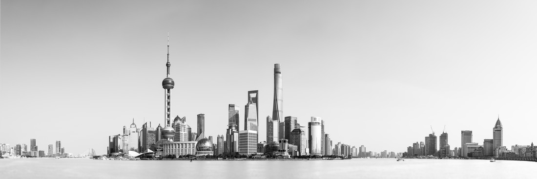 Shanghai Skyline - Fineart photography by Thomas Kleinert