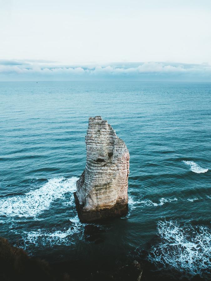LONE ROCK - fotokunst von Fabian Heigel