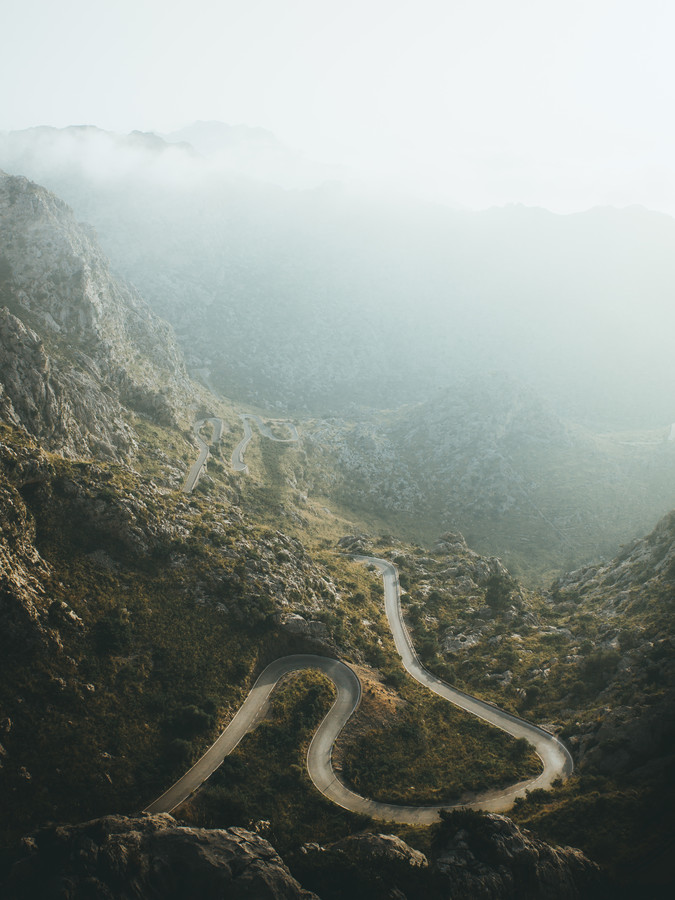 SNAKE ROAD - fotokunst von Fabian Heigel