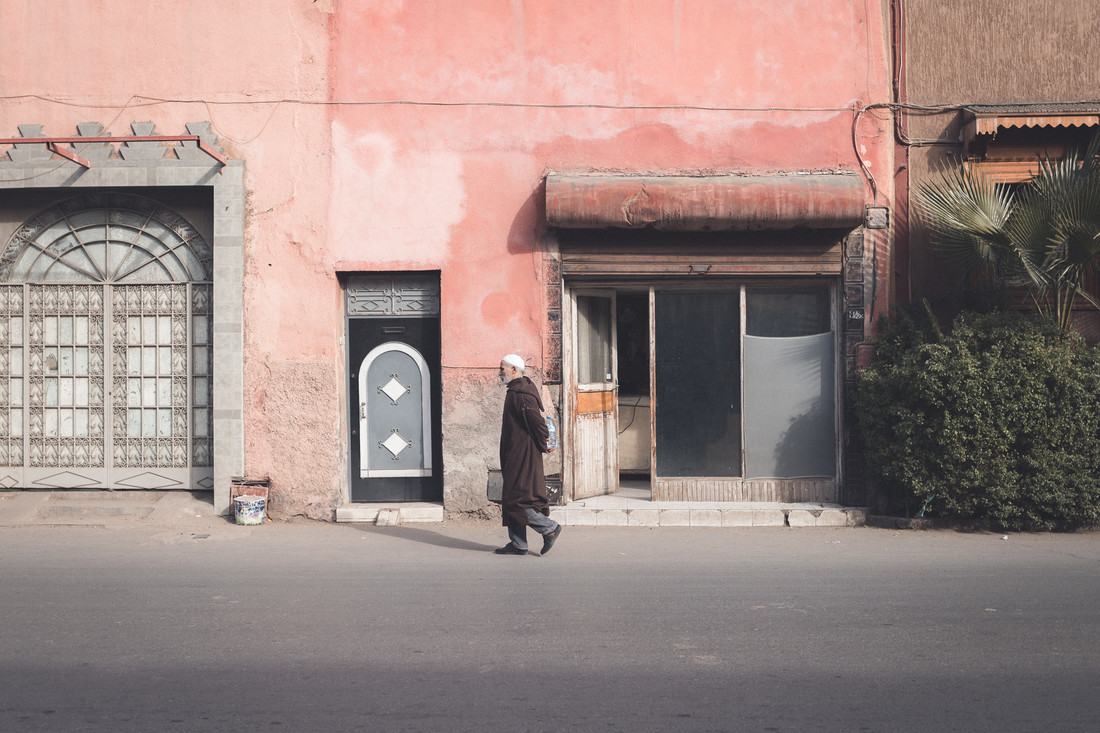 Streets of Marrakesh - fotokunst von Thomas Christian Keller
