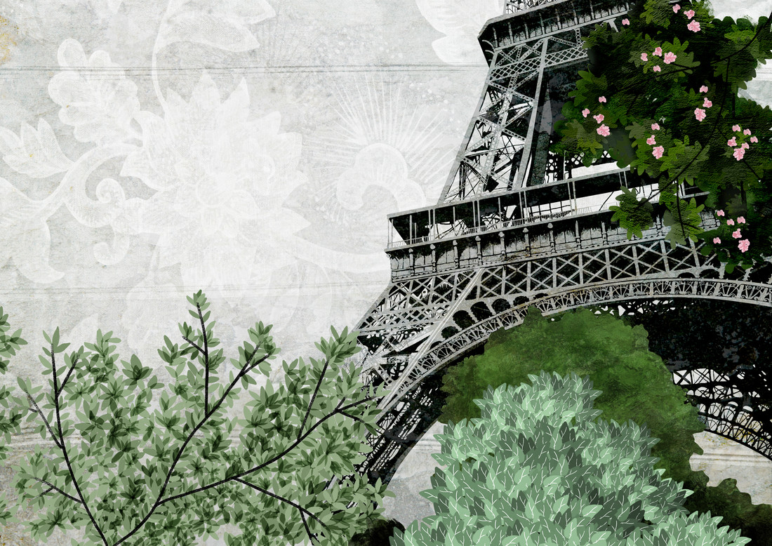 eiffel tower - Fineart photography by Katherine Blower
