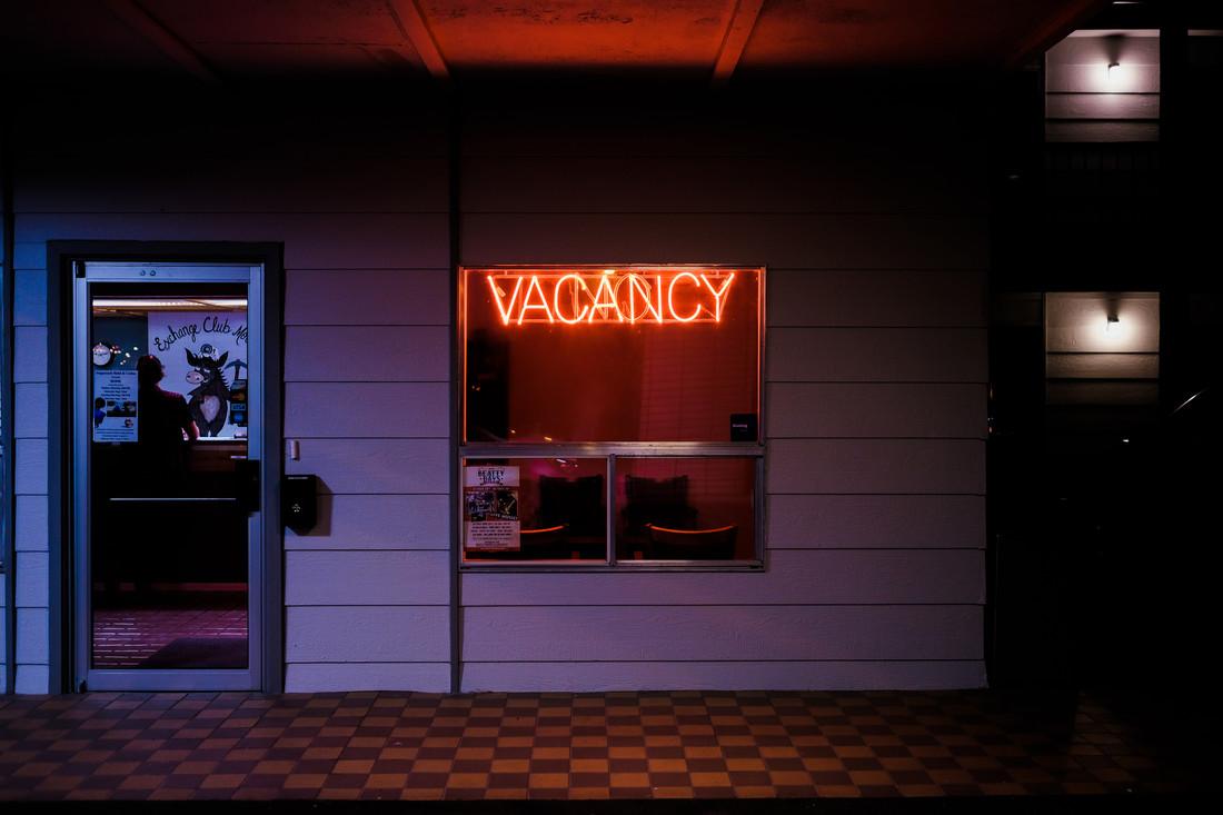Vacancy - Fineart photography by Sebastian Trägner