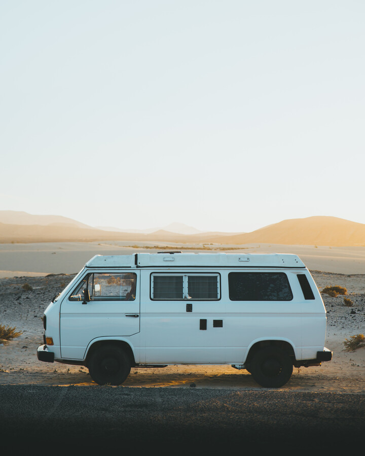 VINTAGE VAN - Fineart photography by Fabian Heigel