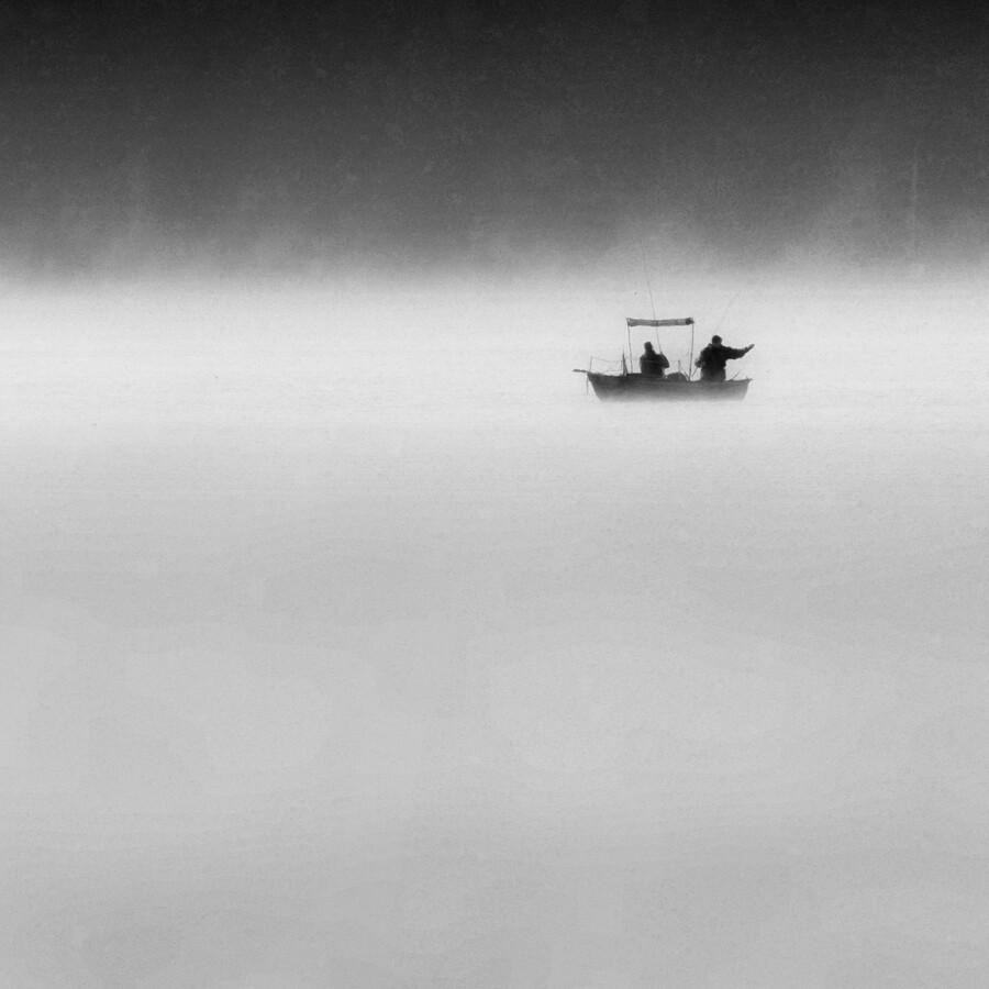 Seelenfischer - fotokunst von Roswitha Schleicher-Schwarz