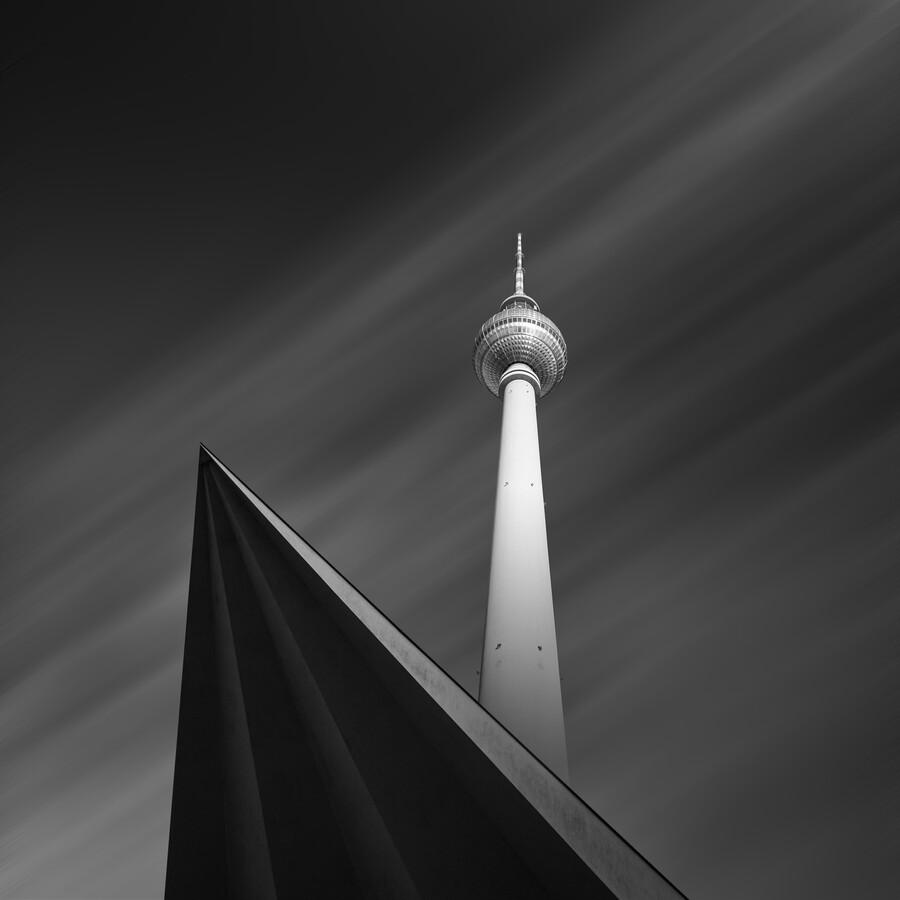 Berliner Fernsehturm - fotokunst von Holger Nimtz