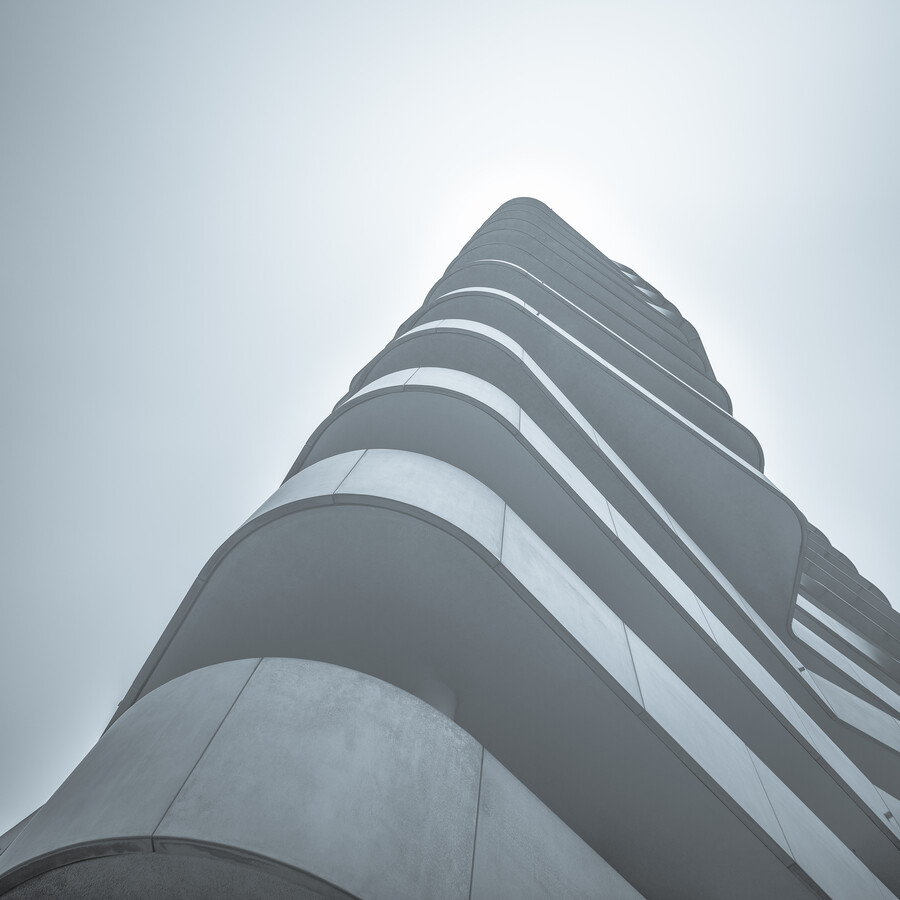 Marco Polo Tower Hamburg HafenCity - Fineart photography by Dennis Wehrmann