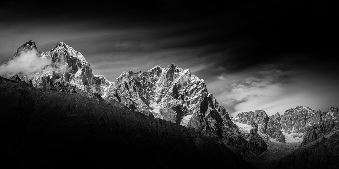 Mt. Ushba - Fineart photography by Thomas Kleinert