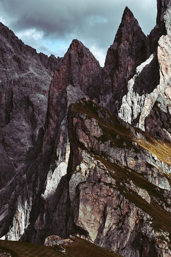 Geislerspitzen, Italien - fotokunst von Sebastian Warneke