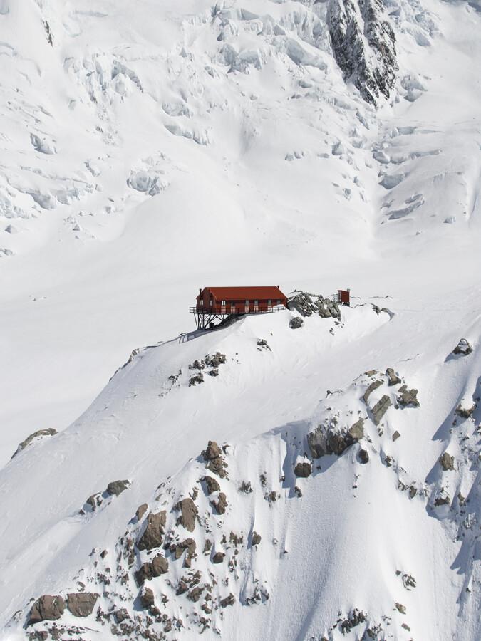 Plateau Hut - Fineart photography by Frida Berg