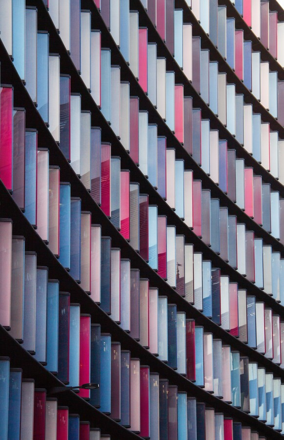 Colorful architecture - Fineart photography by Christian Hartmann