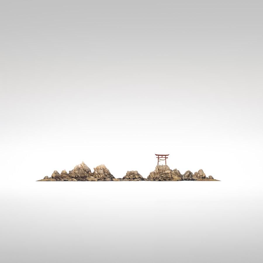 Torii Natakaigan II   Japan - fotokunst von Ronny Behnert