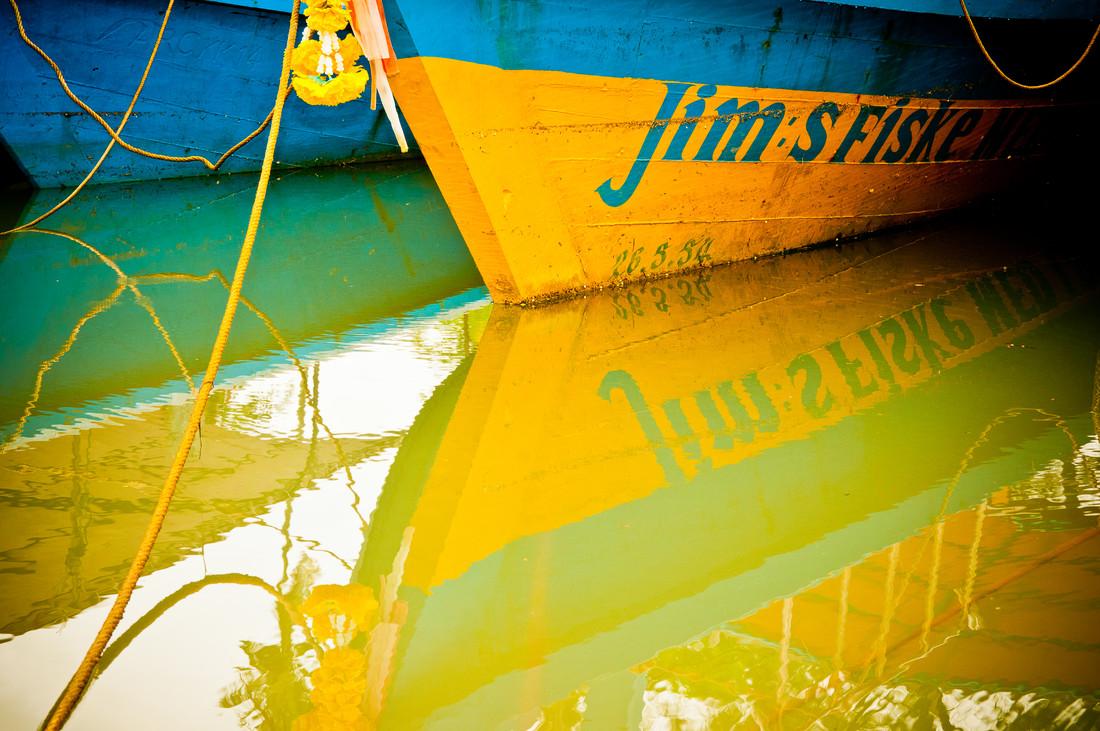 Khaolak - Boats I - Fineart photography by Karin Schiel