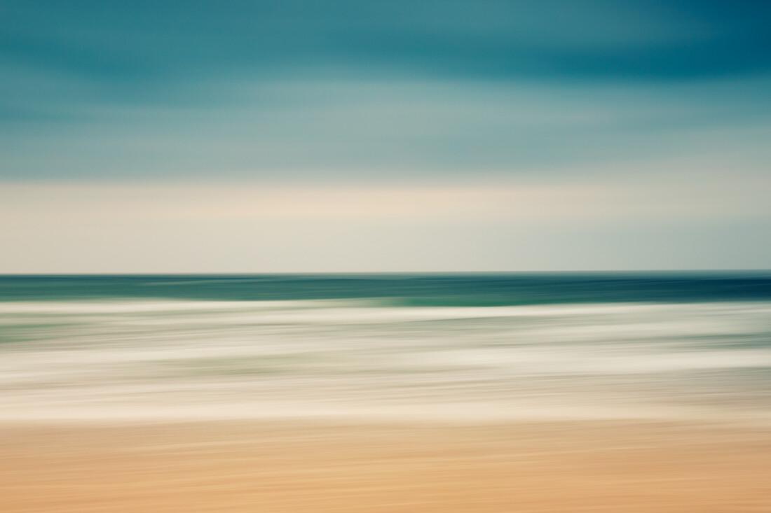 summer sea - fotokunst von Holger Nimtz