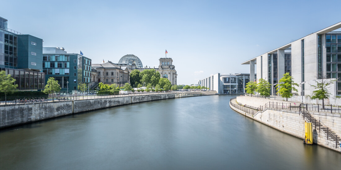 Reichtagsufer 2:1 - Fineart photography by Sebastian Rost