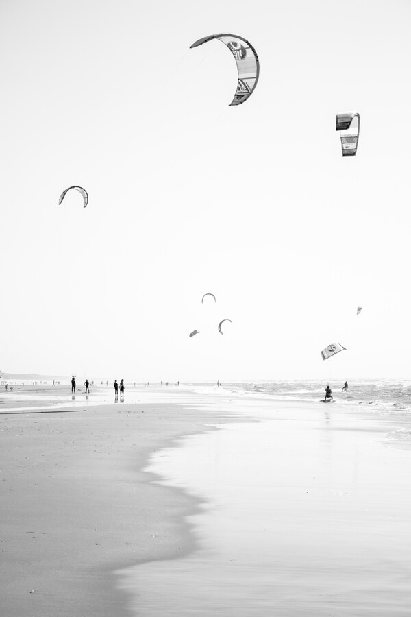 Kitesurfing - Fineart photography by Liva Voigt
