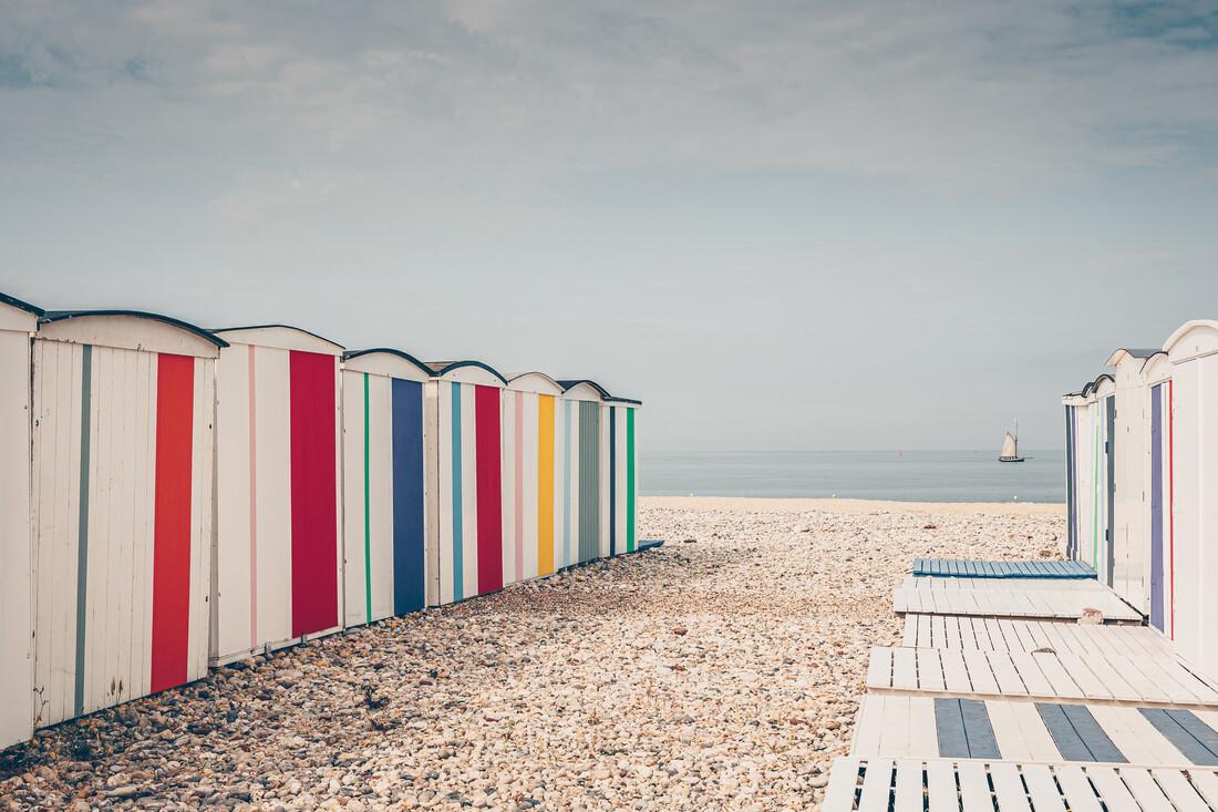 Meet me on the beach - fotokunst von Eva Stadler