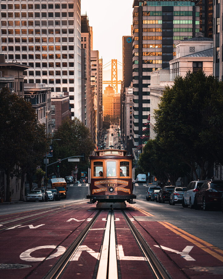 cable car - Fineart photography by Dimitri Luft