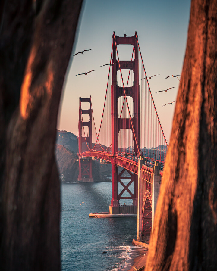 framed bridge - Fineart photography by Dimitri Luft