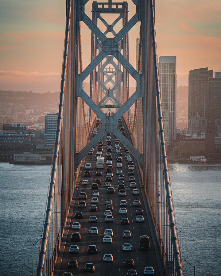 SF Bay Bridge - Fineart photography by Dimitri Luft
