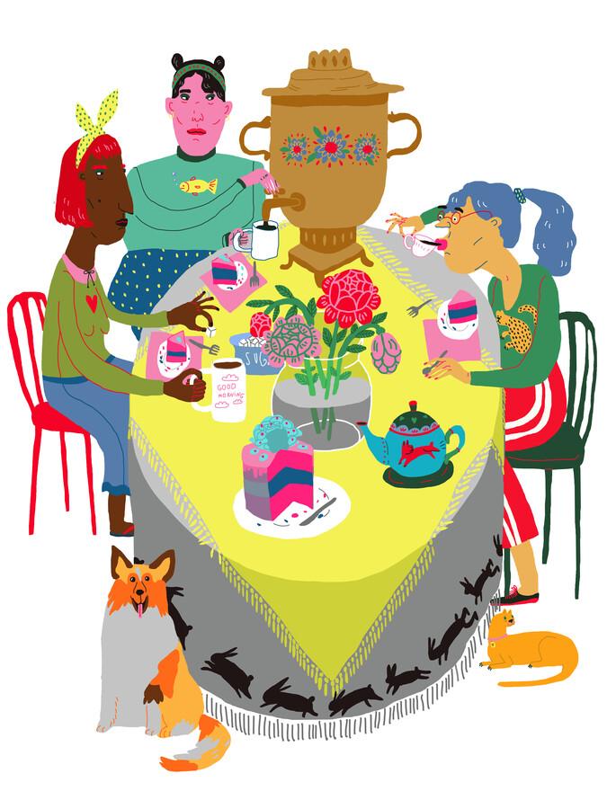 Tuesday Tea Party - Fineart photography by Ezra W. Smith