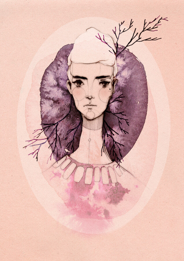 Lilac - Fineart photography by Ekaterina Koroleva